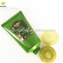 Etiqueta de tubo cosmético, tubos flexíveis