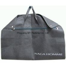 Falten Sie Non-Woven-Kleidungsstück-Beutel-Klage-Abdeckung mit Reißverschlusstasche
