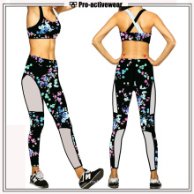 2017 New Design Fashionable Women Gym Sports Suit (Lycra)