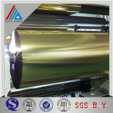 metallic polyester pet film/BOPP Metalized Film/mylar film