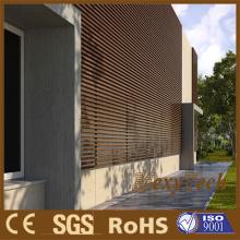 Tablero compuesto plástico madera al aire libre decorativa de pared WPC revestimiento de la pared