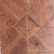 Versaille Oak Wood Parquet Floor / Mosaic Hardwood Flooring