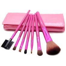 7PCS Portable Makeup Cosmetic Brush Set Kits
