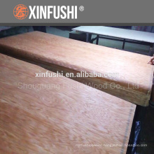rotary-cut mountain texture Red oak plywood for USA market