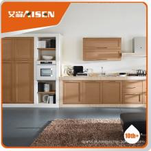 Popular para o mercado armário de cozinha francês de madeira