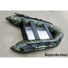 Camouflage Color Hot Sells Sm Series Schlauchboot, konkurrenzfähiger Preis PVC-Boot, Flussboot, Treibboot mit CE China