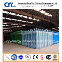 Hochwertiger 50L Hochdruck-Sauerstoff-Argon-Stickstoff-Kohlendioxid-nahtloser Stahlzylinder