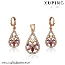 64206- Xuping Fashion Latest Trendy Jewelry Sets
