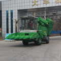 5 baris self-propelled corn combine harvester