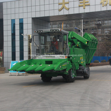5 rows self-propelled corn combine harvester