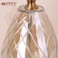 2017 nuevo diseño antigüedad regalo artesanía vaso de cristal artículos de decoración de Navidad para casa de interior