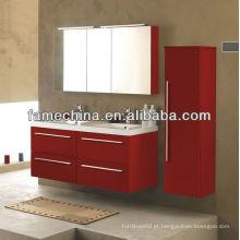 Novo mobiliário de banheiro MDF Bacia de vidro Austrália