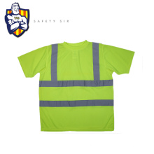 New design yellow neon reflective safety vest