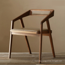 Nordic Style Modern Restaurant Chair Wooden Dining Chair