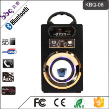 BBQ KBQ-08 10W 1200mAh 2016 New Arrival 4 inch Speaker Horn Bluetooth Craft Audio Karaoke Portable Speaker
