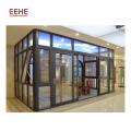 China Marketplace New Style Aluminium Frame Glass House for Pool