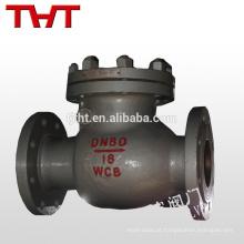 flange de aço carbono aço com válvula de retenção com balanço de mola
