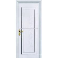Um painel Swing branco pintado portas interiores folheadas Hotel MDF