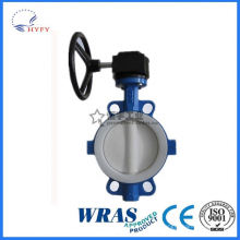 High quality sanitary fittings butterfly valve ss304/316