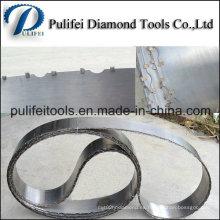 Hoja de sierra de banda de diamante para losa de granito de corte de mármol
