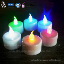 Hot Sale LED Flashing Tealight Candle Made in China