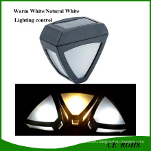 2LED Waterproof Outdoor Pathway LED Solar Wall Light
