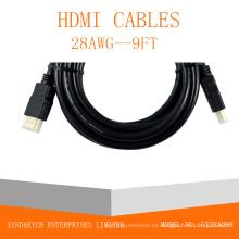 Cable HDMI de alta velocidad de 1.4V