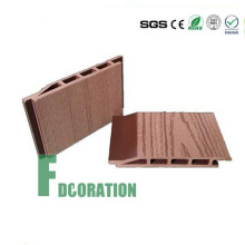 Panel de tablero de madera impermeable de la casa del grano WPC de la madera