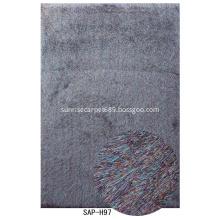 Long Thin Silk Shaggy With Plain Color