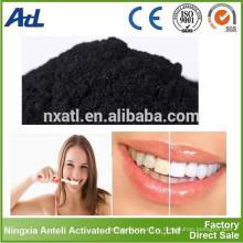 Органический натуральный отбеливатель зубов активированным углем отбеливание зубов порошок