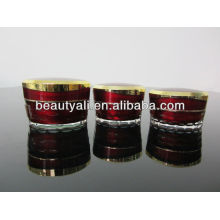 15ml 30ml 50ml Tapered Cosmetic Acrylic Container
