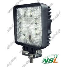 Lampe de travail à LED de haute qualité 18W pour voitures SUV tout-terrain Rectangle voiture LED Projecteur à LED Lumière de travail