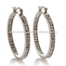 2013 Fashion in ear headphones hoop earrings