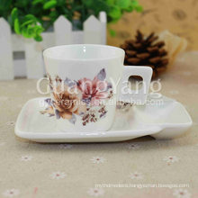 Customized Logo Porcelain Enameled Cups With Logo Printing