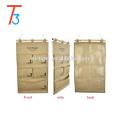Storage Bag 5 pocket multi-layer fabric debris storage wall hanging bags