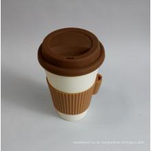 (BC-C1034) Hochwertige Bambusfaser-Kaffeetasse