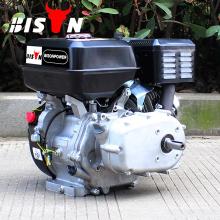 Moteur à essence à démarrage électrique BISON (CHINA) 9HP GX270 à engrenage réducteur