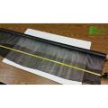 embalaje de invernadero mulch jumbo rodando hoja de plástico pvc película rígida 0.5mm de biodegradación de espesor