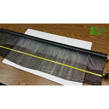 greenhouse packaging mulch jumbo rolling plastic sheet pvc rigid film 0.5mm thick biodegradation