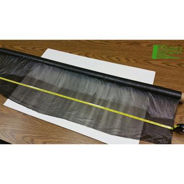 emballage de serre paillis jumbo roulant feuille de plastique pvc film rigide 0.5mm d'épaisseur biodégradation
