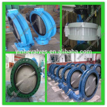 EN 593 / PN 16 Válvulas de borboleta tipo U fornecedor China