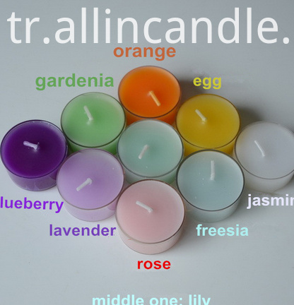 Multi Colors Tealight Candles