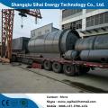 Capacidad de manejo de día 8-10 ton planta pirolítica