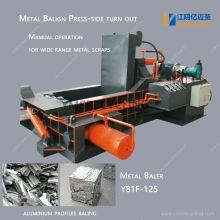 Metal Baler for Aluminum Scrap