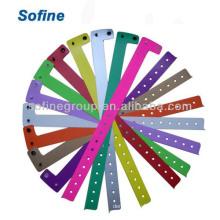 L Форма Пластиковый браслет, Одноразовый браслет с винилом, Дешевые браслеты Id
