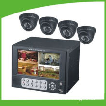 CCTV Digital Network Cameras Surveillance Kit with One Digital Video Recorder and Eight Cameras