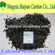 Schwefelarmer 99% Calcined Petroleum Coke Lieferant in China