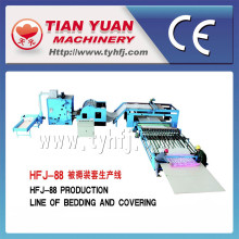Chaîne de production automatique de fabrication de courtepointe