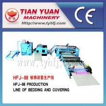 Linha de produção de colcha automática