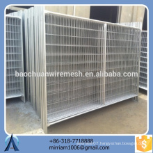 high quality hot dipped galvanized temporary fence panel